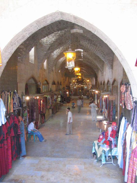 Aleppo souk entrance