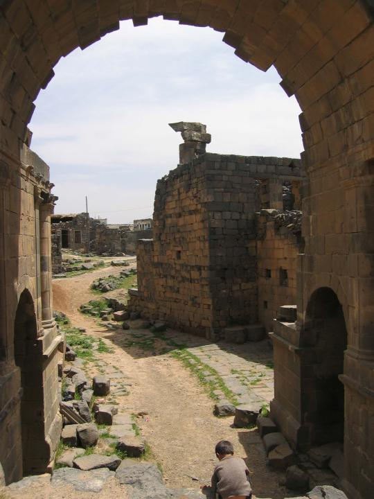 Ruins at Bosra