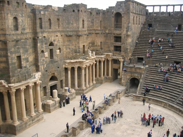 Roman Amphitheater at Bosra